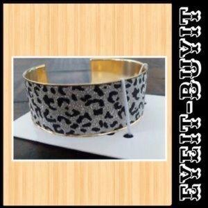H&M Animal Print Cuff Bracelet